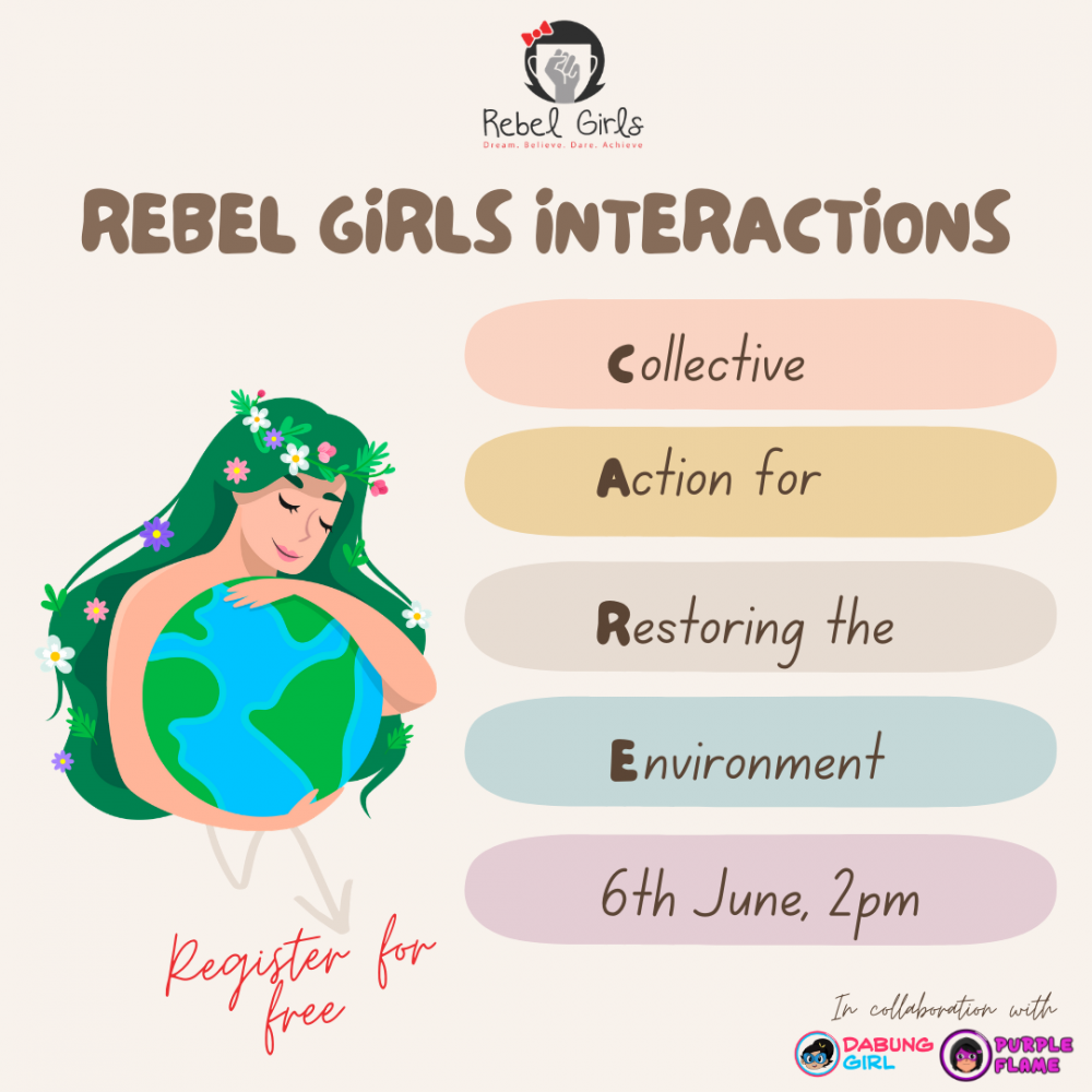 Rebel Girls Interactions: Collective Action for Restoring the Environment (WATCH ONLINE)