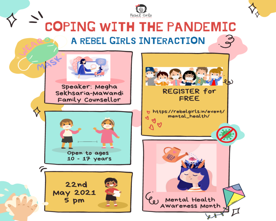 Rebel Girls Interactions: Coping with the Pandemic